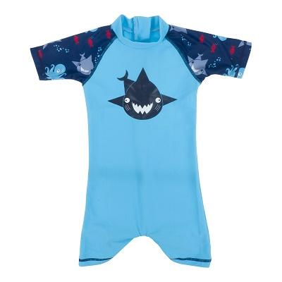 Baby Banz enodelno kopalno oblačilo svetlo modro