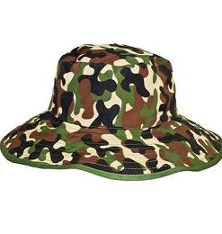 Baby Banz klobuk vojaški