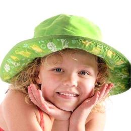 Baby Banz klobuk zelen obojestranski