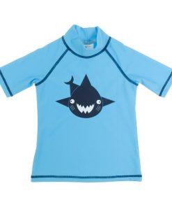 Baby Banz majica s kratkimi rokavi svetlo modra