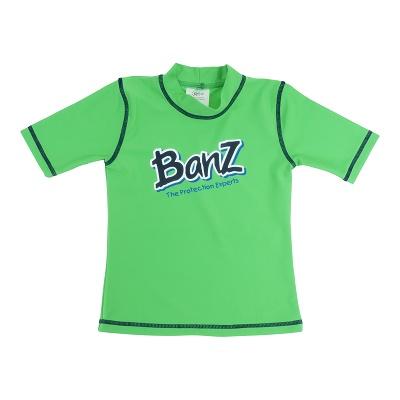 Baby Banz majica s kratkimi rokavi zelena