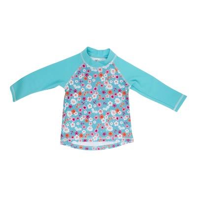 Baby Banz majica z dolgimi rokavi rožasta
