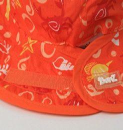 Baby Banz oranžen klobuk 1