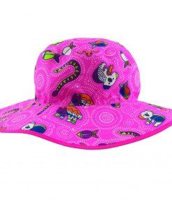 klobuk roza živalce