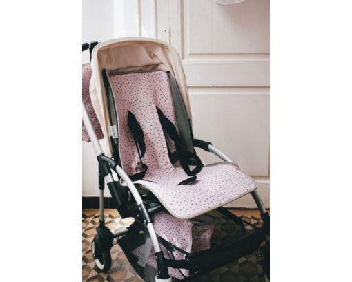 Univerzalna podloga za voziček, pinkUniverzalna podloga za voziček, pink