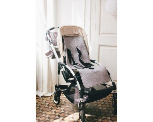 Univerzalna podloga za voziček, siva