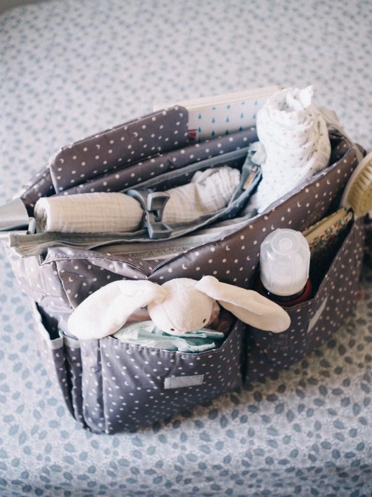 Previjalna torba sladke sanje, siva