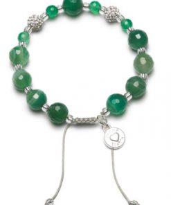 Zapestnica agate green