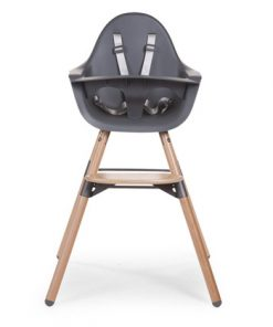Otroški stol Childhome Evolu 2 Anthracite/Natural