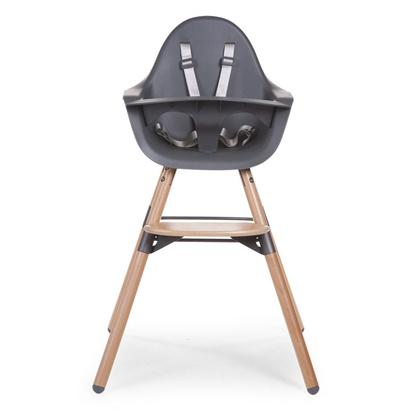 Otroški stol Childhome Evolu 2 Anthracite/Natural