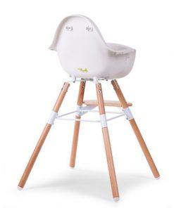 Otroški stol Childhome Evolu 2 White:Natural