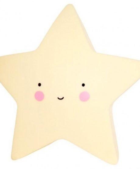 Mini lučka - zvezdica rumena
