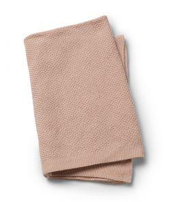 Pletena odejica - Powder Pink