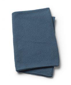 Pletena odejica - Tender Blue