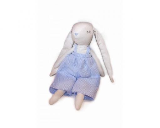 Igračka zajček- modra 2