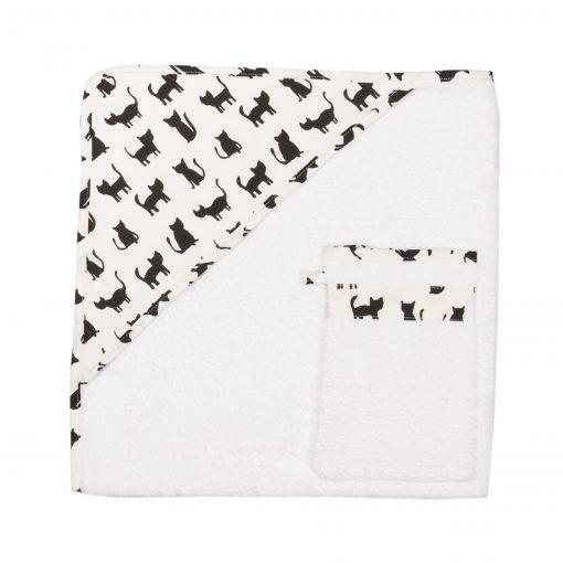 Kopalna brisača in krpica za umivanje
