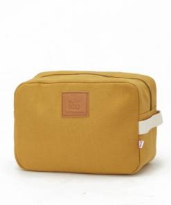 Kozmetična torbica Happy Family Ocre