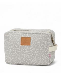 Kozmetična torbica Liberty Flowers Gris Claro