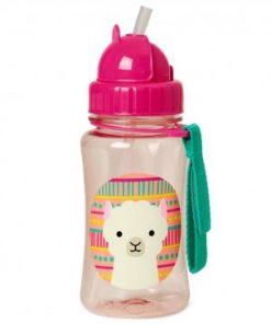 Steklenička s slamico - Lama