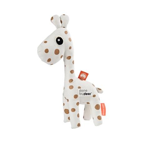 Done by Deer - Aktivnostna ropotuljica žirafa Raffi, gold dots
