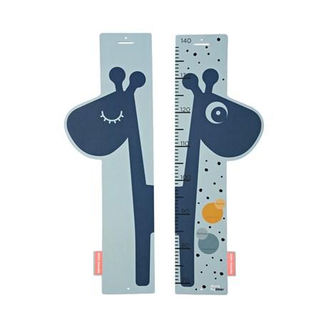 Done by Deer - otroški stenski meter Raffi, blue