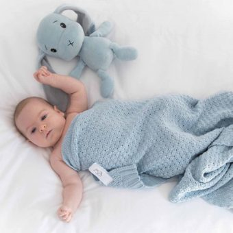 Effiki® Odejica Baby 75×90 modra