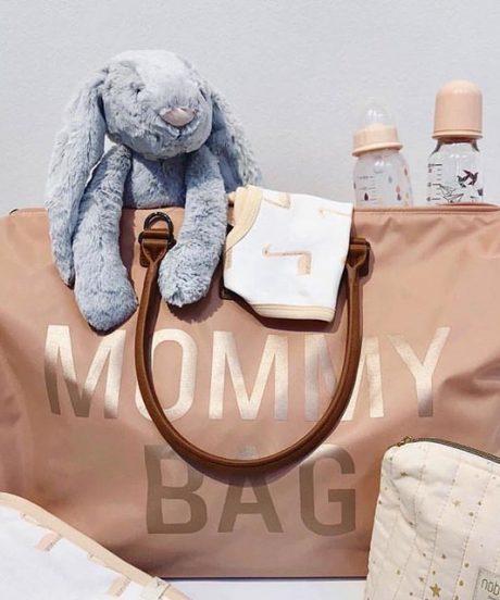 Torba Mommy Bag Pink 2
