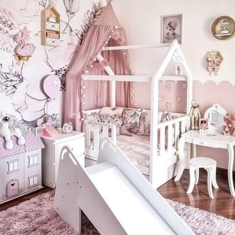 Lesene otroške postelje