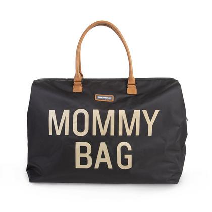 Torba Mommy Bag Big Black Gold Childhome