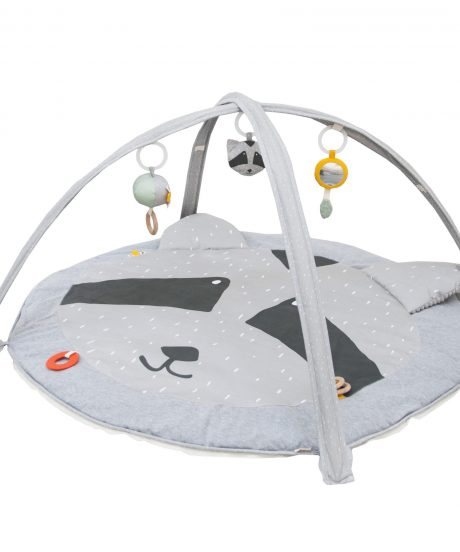 Activity play mat with arches - Mr. Racoon