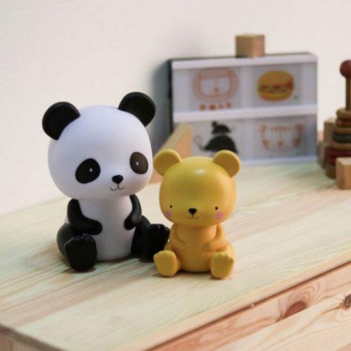 A Little Lovely Company - nočna lučka panda 2