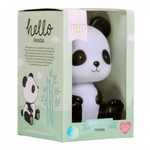 A Little Lovely Company - nočna lučka panda 3