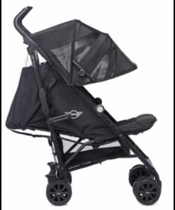Otroški voziček MINI by Easywalker Buggy+ LXRY Black