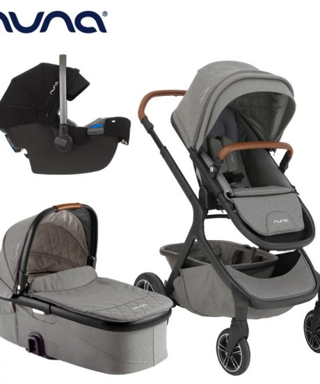 Otroški voziček 3v1 Nuna Demi Grow, OXFORD + Nuna Pipa Icon, Caviar