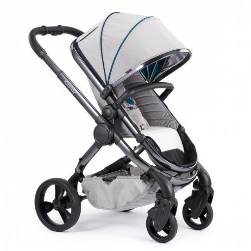 Otroški voziček iCandy New Peach_Dove kromirano ogrodje_1