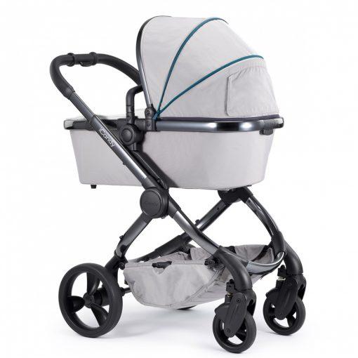 Otroški voziček iCandy New Peach_Dove kromirano ogrodje_2