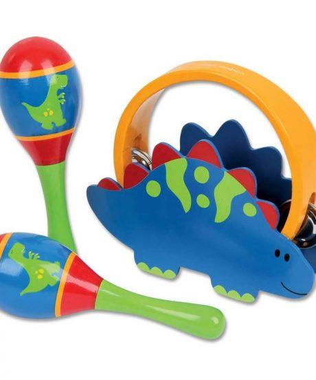 Glasbeni set Dino 2