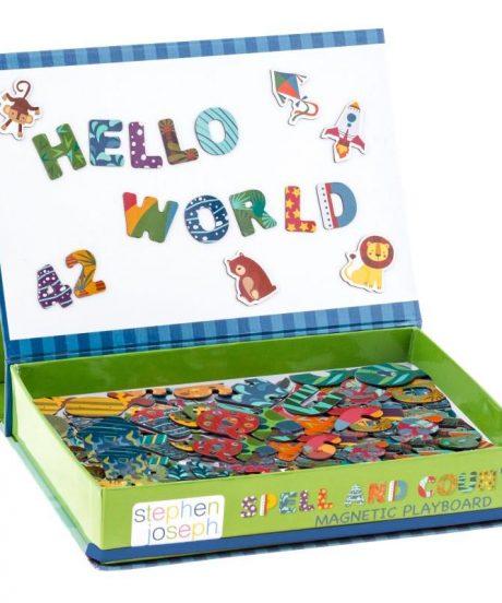 Magnetna igra črkuj in štej Hello World