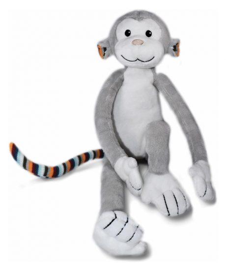 mehka igrača z lučko in zvoki opica
