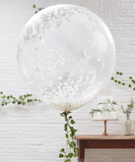 Ginger Ray® Baloni s konfeti - Beautiful Botanics
