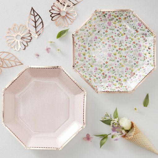 Ginger ray krožniki Ditsy Floral & Blush Plates-Cutout.jpg