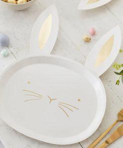Ginger Ray® Krožniki - Velikonočni zajček