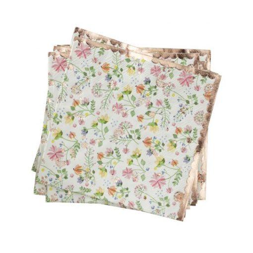 Ginger Ray® Serviete - Ditsy Floral - 16 kosov