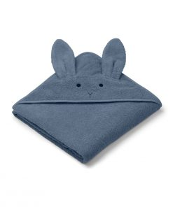 LIEWOOD kopalna brisačka Augusta - Rabbit Blue Wave