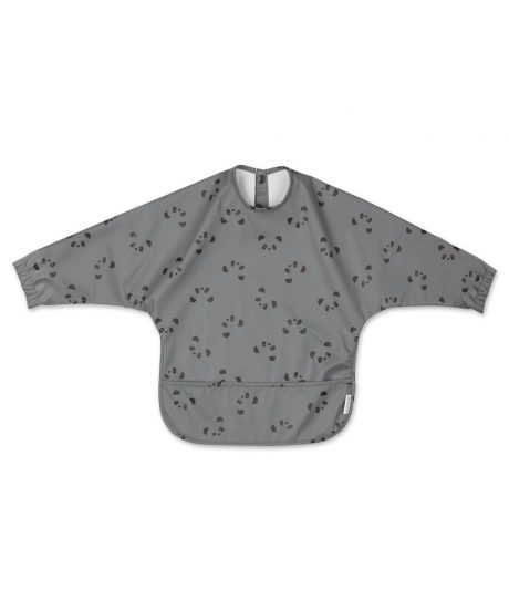LIEWOOD slinček z rokavi - Panda Stone Grey