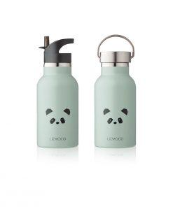 LIEWOOD termo steklenička - Panda, Dusty Mint