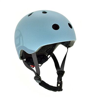 Otroška čelada Scoot&Ride Steel S-M