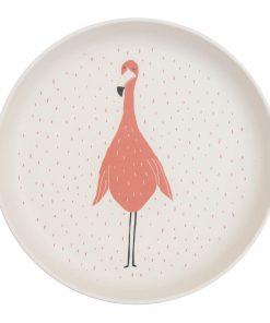 krožnik trixie flamingo