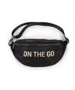 Childhome Banana Bag On the Go Black-Gold1