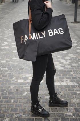 Childhome Torba Family Bag - Black